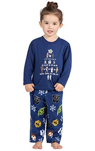 PajamaGram Dark Blue Star Wars PJ - Toddler -