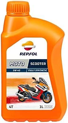 Repsol RP164L51 Moto Scooter 4T 5W-40 Aceite de Motor, Multicolor ...