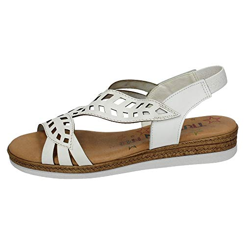 In Made Blanc Femme T7068 Sandales Spain dwxffaqT0