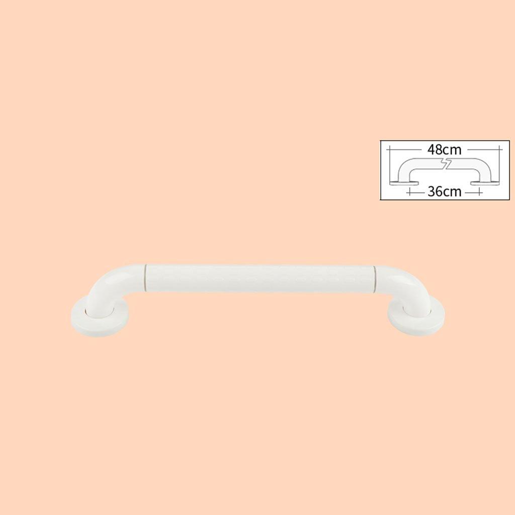 BSNOWF バスルームの安全な手すりアクセシブルなバスルームのハンドルトイレ滑り止めの手すり障害のある高齢者 ( 色 : 白 , サイズ さいず : 灰色 はいいろ ) B07BKYNBS4 灰色 はいいろ 白 白 灰色 はいいろ