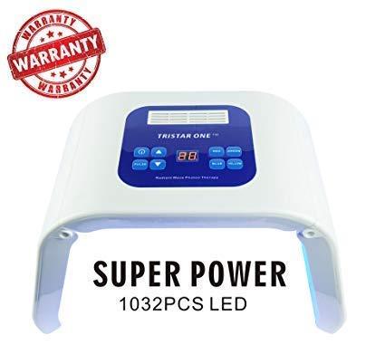 (Vansaile Photon PDT LED Light Photodynamic Facial Mask Skin Rejuvenation Therapy Beauty Machine 4 Colors)