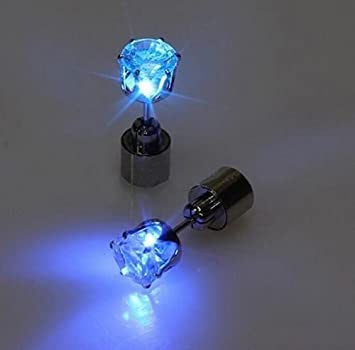 Amazon.com: IC ICLOVER 1 Pair LED Earrings Glowing Light Up ...