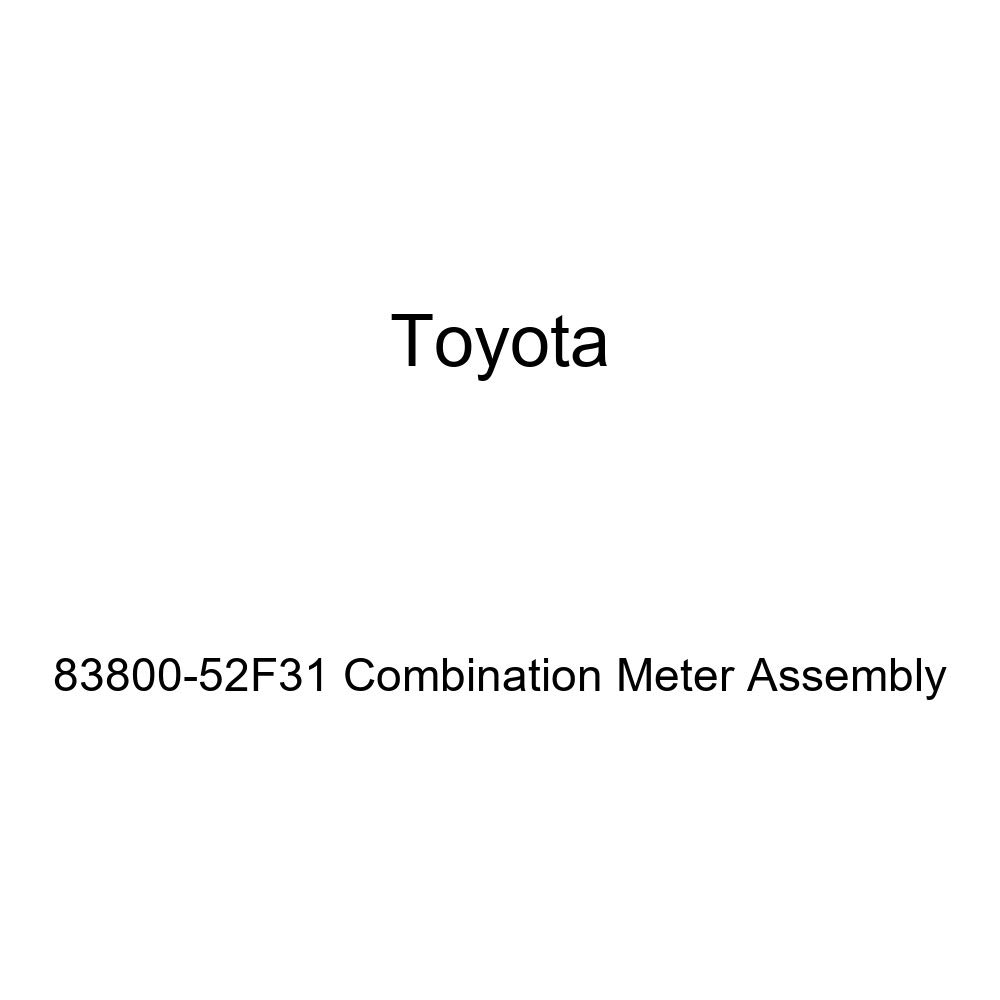 Toyota Genuine 83800-52F31 Combination Meter Assembly