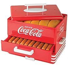 Nostalgia HDS248COKE Extra Large Coca-Cola Hot Dog Steamer