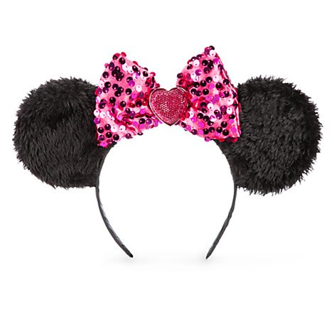 Disney Minnie Mouse Ears Headband With Pink Bow - Mouse Ears
