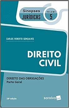 Sinopses jurídicas: Direito Civil: Parte geral - 19ª edição de 2019: Direito das obrigações: 5