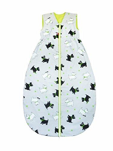 Linden Verano Saco de dormir, largo, diseño de Perros gris Talla:60 cm: Amazon.es: Bebé
