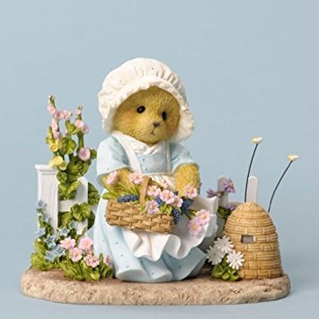 Cherished Teddies In My Garden, I'm Busy As A Bee
