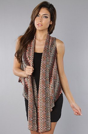 *NYC Boutique The Ciaro Vest,Vests for Women