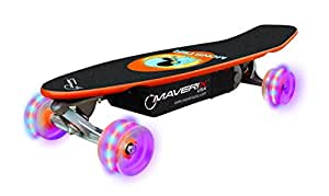 "Maverix USA Monster 100W Electric Skateboard with LED Wheels, Multicolor, One Size/31"" x 12 x 8"""