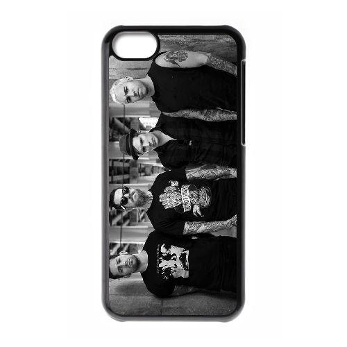 Fall Out Boy BS99IH8 coque iPhone Téléphone cellulaire 5c cas coque G8WZ1H9ML