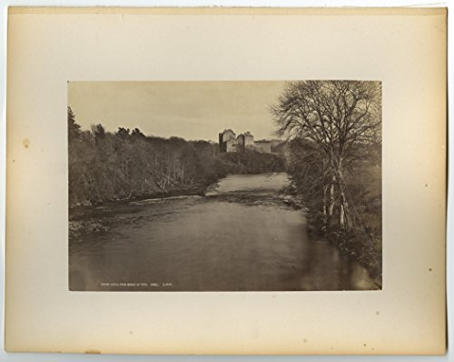 Century Castle (Doune Castle - Scottish Stronghold - 19th Century Photography, * Game of)