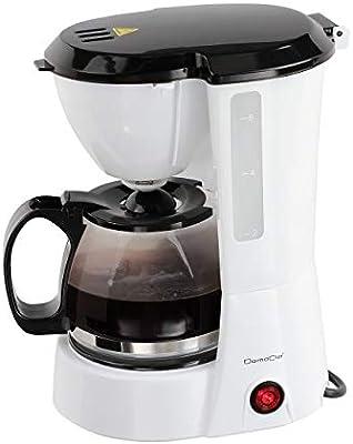 Domoclip dod138 cafetera eléctrica 6 tazas: Amazon.es: Hogar