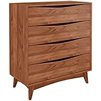Manhattan Comfort CS48306 Hamilton Dresser Cabinet, Dark Brown