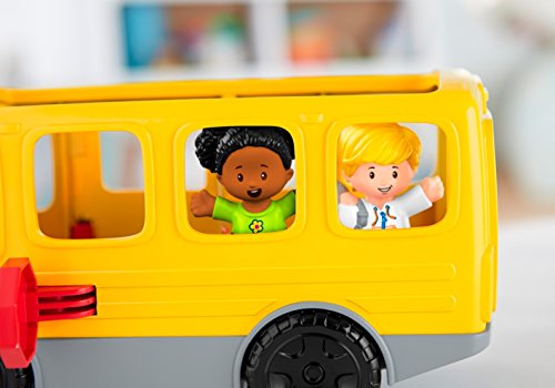 41CKbj7gUPL - Fisher-Price Little People Sit with Me School Bus Vehicle