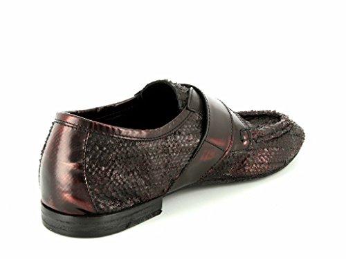 Kudeta 623,101 Mujeres Zapatos Bajos De Color Rojo En El Medio