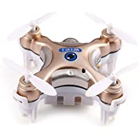 Mini Dorne WIFI FPV Android APP Remote Control 2.4GHz 4CH 6 Axis Quadcopter Helicopter with 0.3MP HD Camera (Gold)