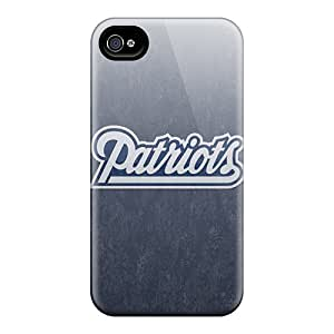 MXcases Snap On Hard New England Patriots Protector For Ipod Touch 4 Case Cover