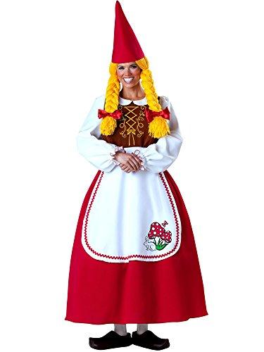 Incharacter Costumes Llc Women's Mrs Garden Gnome Costume Multicoloured Large]()