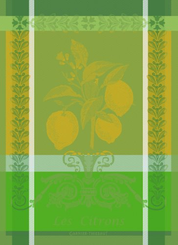 garnier-thiebaut-100-two-ply-twisted-cotton-citron-kitchen-towel-22-by-30-inch-zeste-made-in-france