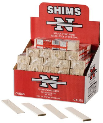091996002000 - Nelson Wood Shims PSH8/14/52 (one pack of 14 shims) carousel main 1