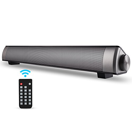 Soundbar TV-Sound Bar-Wired and Wireless Bluetooth Home Theater TV Speaker, Surround Sound Bar for TV, PC, Cellphone-Sound Bar Bluetooth Wireless (black)