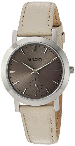 Beige Leather Watch - 6
