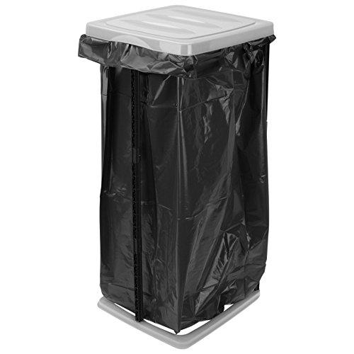 Müllsackständer 60l Grau Schwarz Müllständer Müllsackhalter Mülltonne Mülleimer Gelber Sack