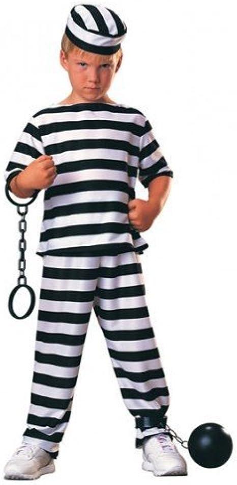 Fancy Me Infantil Prisionero Ladrona Preso Ladrón Bill Libro Día ...