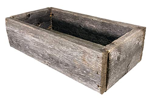Barnwood Decorative Rustic Display Box made from 100% Authentic Reclaimed -