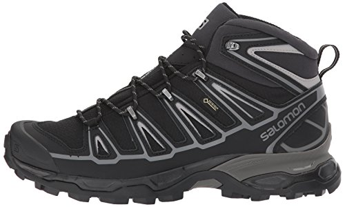 Mid Ultra X Schwarz Men Spikes GTX 2 Aluminium Black Salomon wZO5aEqw