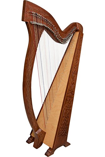 Roosebeck Meghan Harp TM, 36 Strings, Knotwork (Package Of 2) by Roosebeck