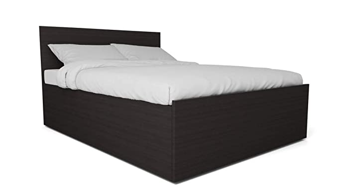 GODREJ INTERIO Terra King Size Bed with Storage (Wenge)