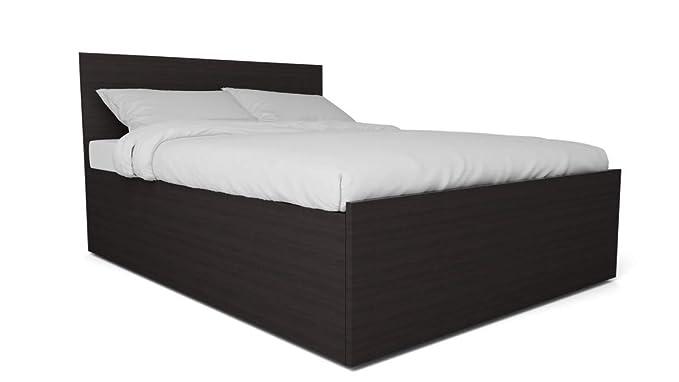 GODREJ INTERIO Terra King Size Bed with Storage (Wenge)
