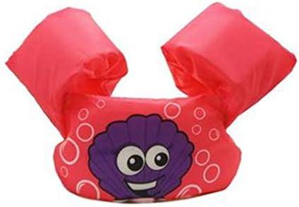 子供の浮力ベスト、調節可能なバックルバックオープンウォータースイムブイ、キッドアームリング水上インフレータブル袖、安全教育インフレータブルアーム (Color : A)