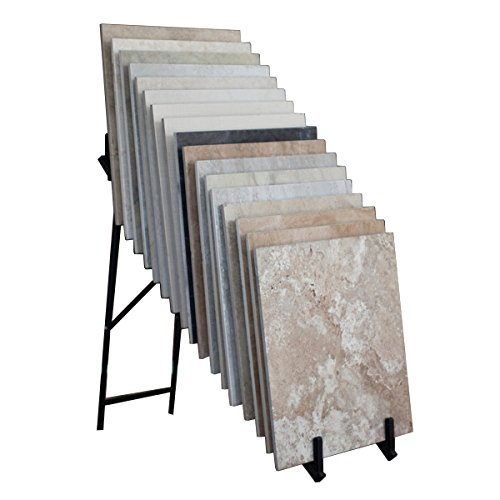 (BOX OF 2) 21-Count Folding Retail Flooring Waterfall Display (Basic Display -