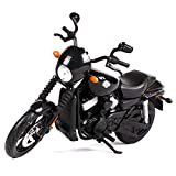 1:12 Motorcycle Model 2015 Street 750, Static Simulation Alloy Die-Casting Model Car, Pull Back Toy Car Model, Home Decoration, Collectibles, Gifts