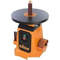 Lijadora de cilindro orientable sobre bandeja inclinable 380mm