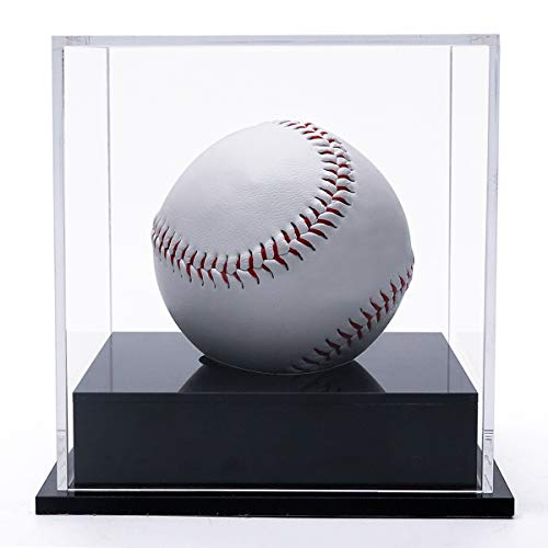 4 Ultra Pro Dark Wood Baseball Ball Storage Holders Display Case Fast Color Sports Mem, Cards & Fan Shop
