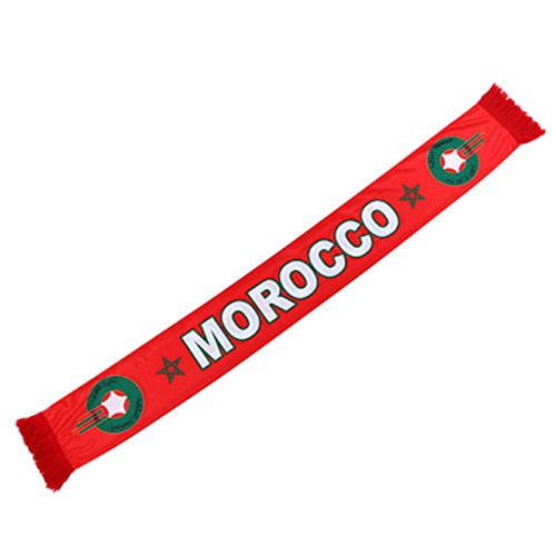140cm16cm 2018 Russia FIFA World Cup Fans Fashionable Scarves Flags Sports Football Soccer Neckerchief Morocco (Uruguay World Cup)