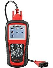Autel Maxidiag Elite MD802 OBD / EOBD Diagnosegerät Vollständige System, unterstüzt Live-Daten, EPB Automatischer Diagnosescanner für Motor, ABS, Airbag, Automatikgetriebe, Ölservice-Reset
