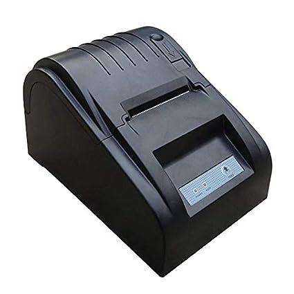Amazon Com Sodial Zj 5890t 58mm Thermal Printer 58mm