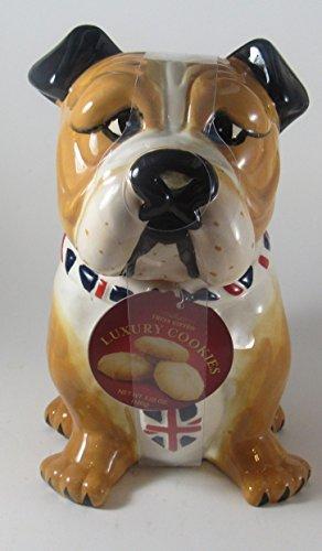 Bulldog Ceramic Cookies Jar<br>Approx 9x7x5 Inches