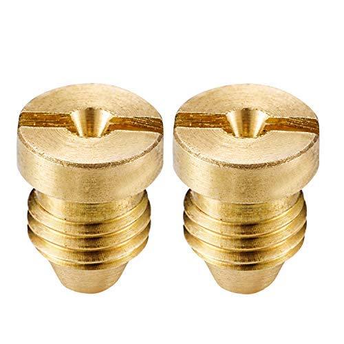 RESNSTAR 2 Pack Foam Cannon Orifice Nozzle Tips, Universal Foam Generator Nozzles for Snow Foam Lance (1.1 mm, 3000 PSI)