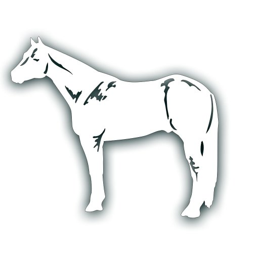 Quarter Horse Decal - 7