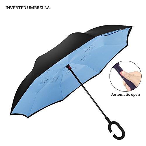 Premium Compact Reverse Umbrella AmbrellaOK product image
