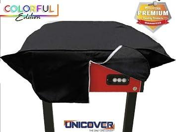 Unicover - Funda para futbolín - Colorful Reforzado Negro: Amazon ...