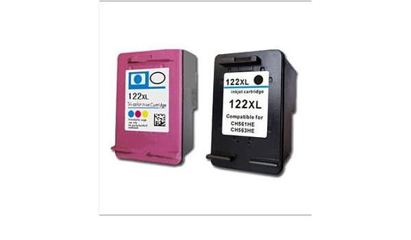 Deskjet 2050 cartucho de, 122 122 x l de tinta compatibles ...