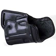 """The Undercover"" - KIRO Holsters Black Right Hand Small of Back Leather Holster for Bulgarian Makarov"