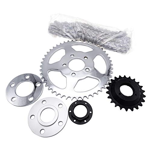 Chain Drive Transmission Sprocket Conversion Kit For 2000-UP Harley Sportster 72 48 Iron Roadster 883 1200 - 1200 Conversion
